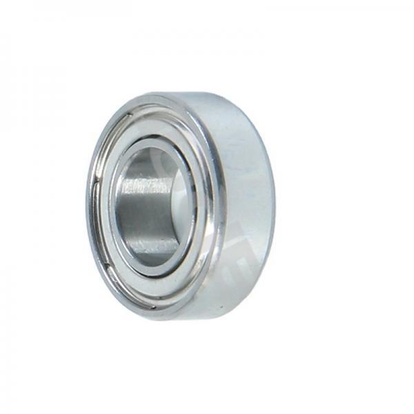 High precision auto spare part ball bearing 6208 ZZ C3 #1 image